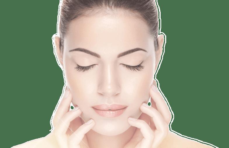 model women clear skin