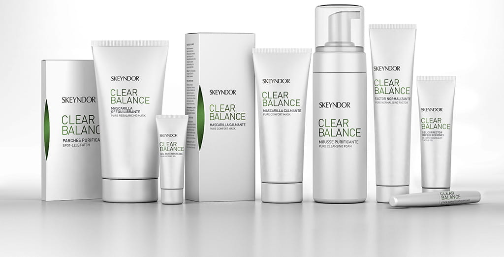 clear balance product range